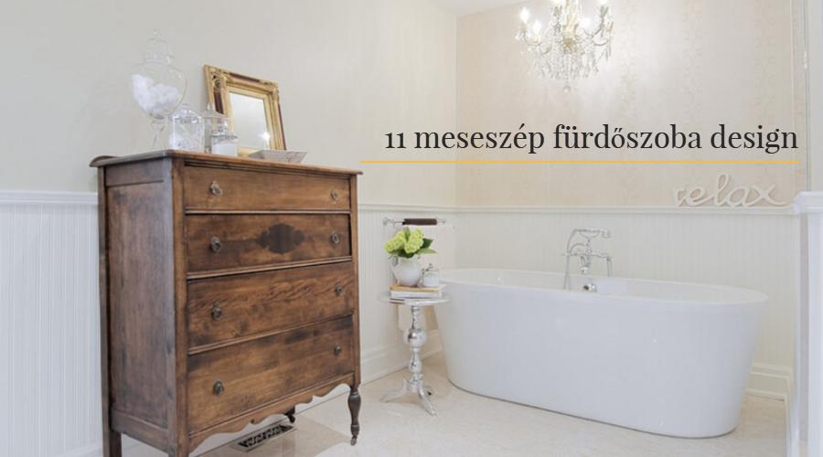 11 meseszép fürdőszoba design